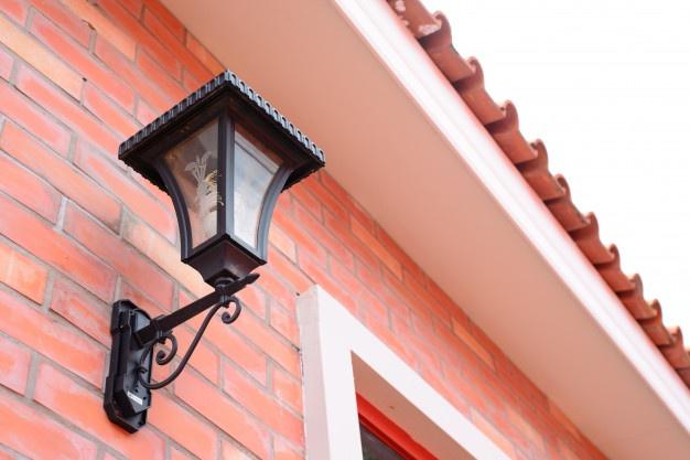 sort væglampe